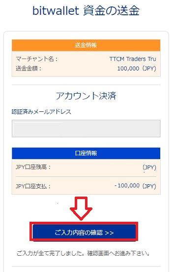 TradersTrustの入金手順まとめ